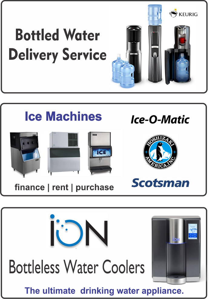 Bottled Water & Ice Machines